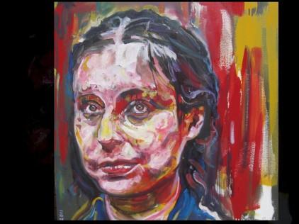 jess oil on canvas