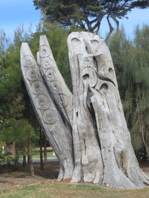 Mordialloc Aboriginal Reserve scarred tree