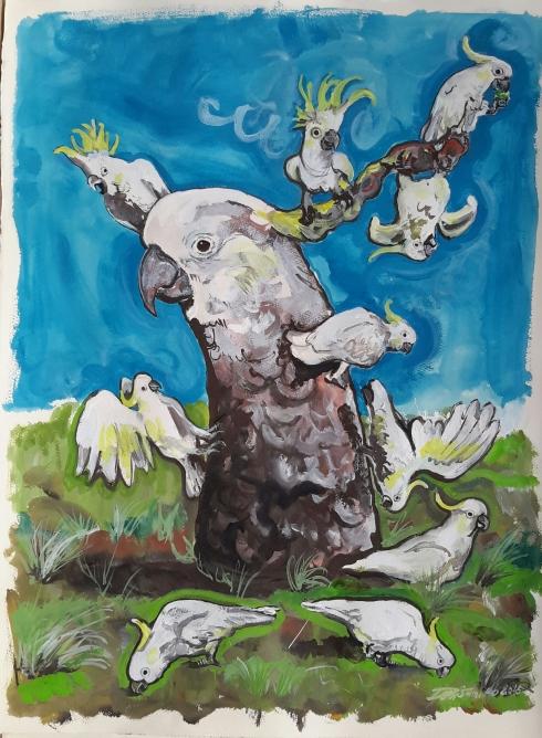 Gang of Cockatoos